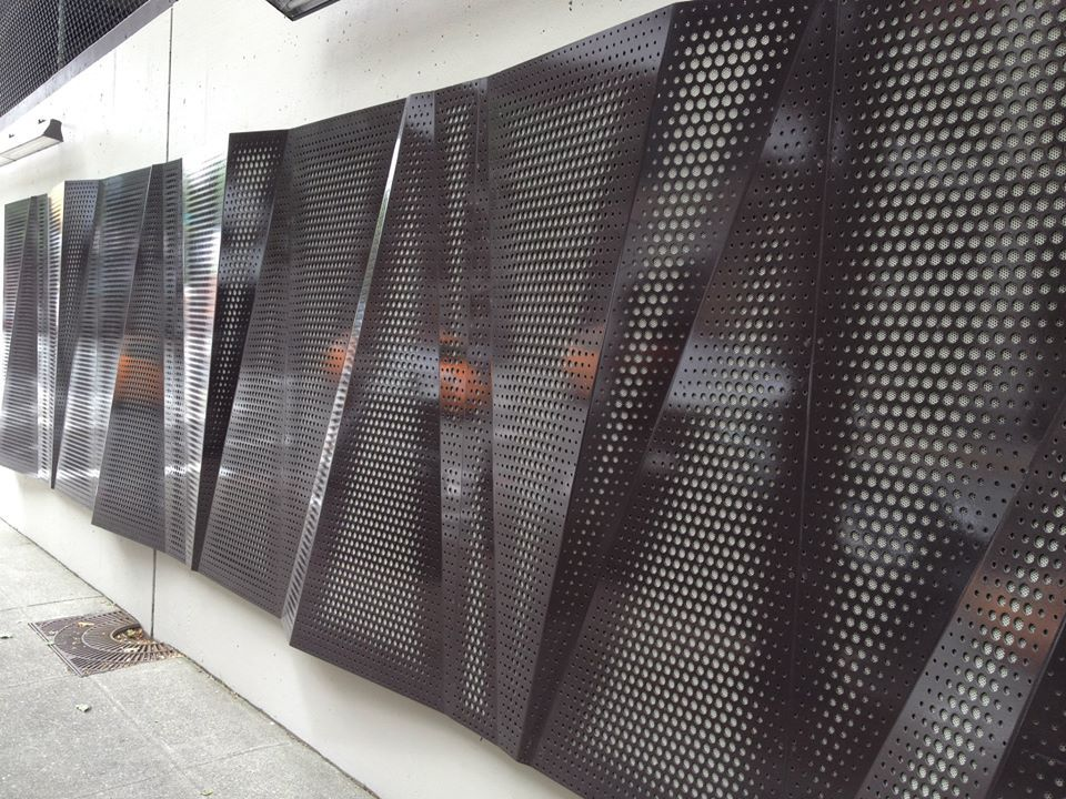 Architectural Wall Systems Custom Perforation by ARKTURA