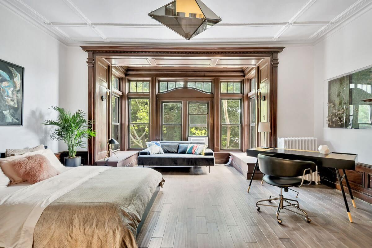 Bed Stuy Brownstone With Distinctive Bay Window Returns as