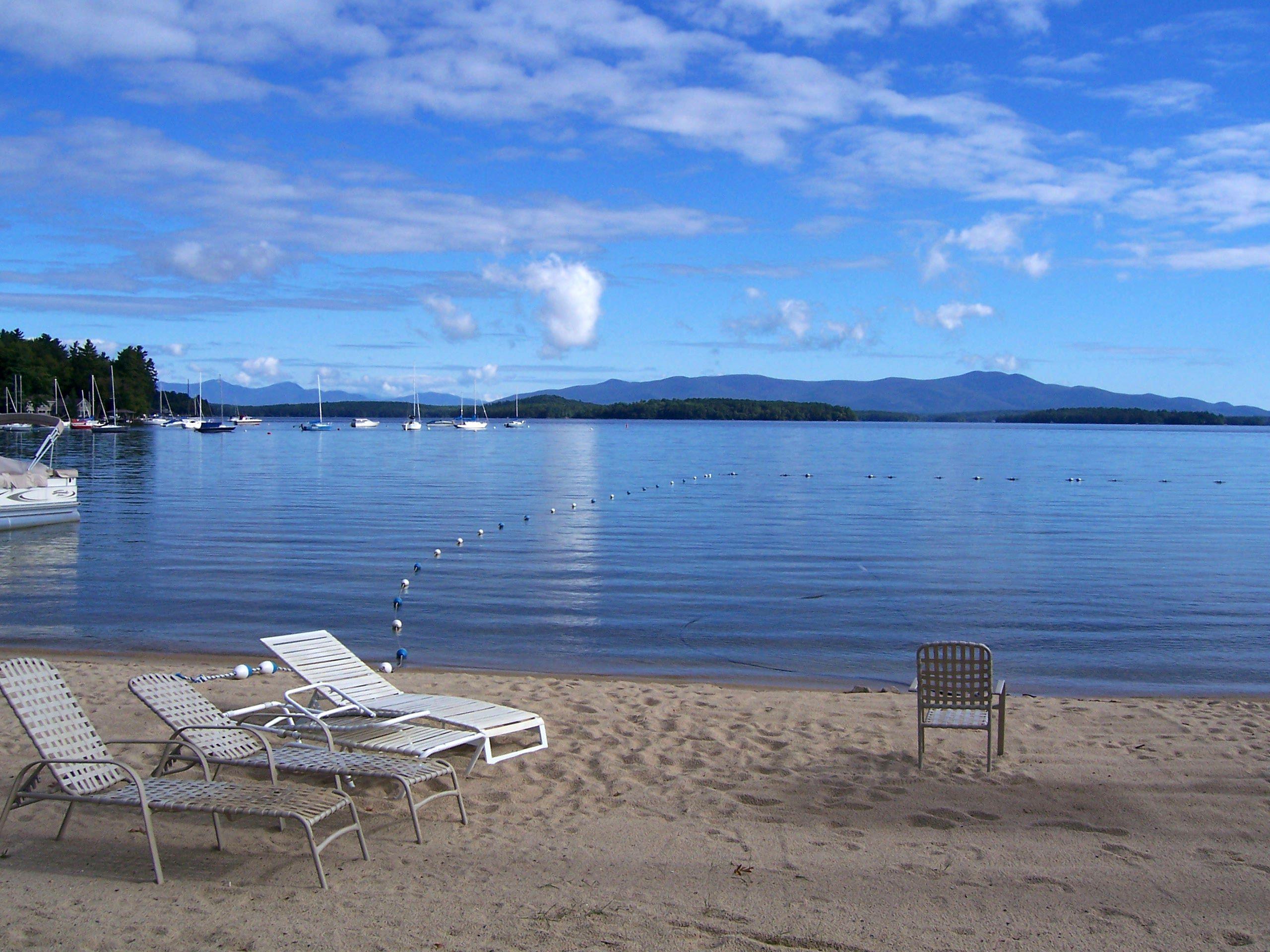 Barefoot Beach, Lake Winnepesaukee, NH