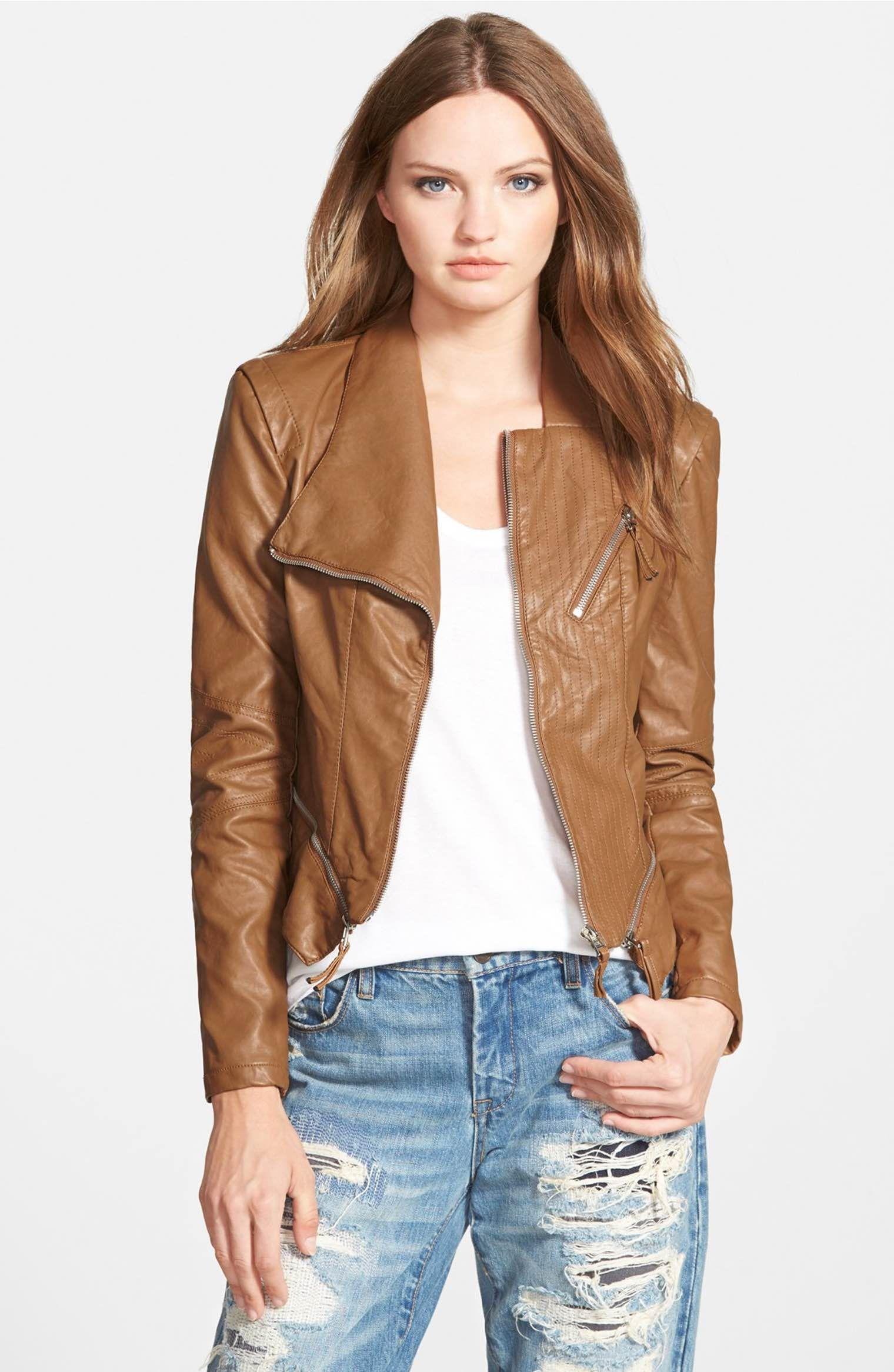 Main Image BLANKNYC Faux Leather Jacket Blanknyc faux