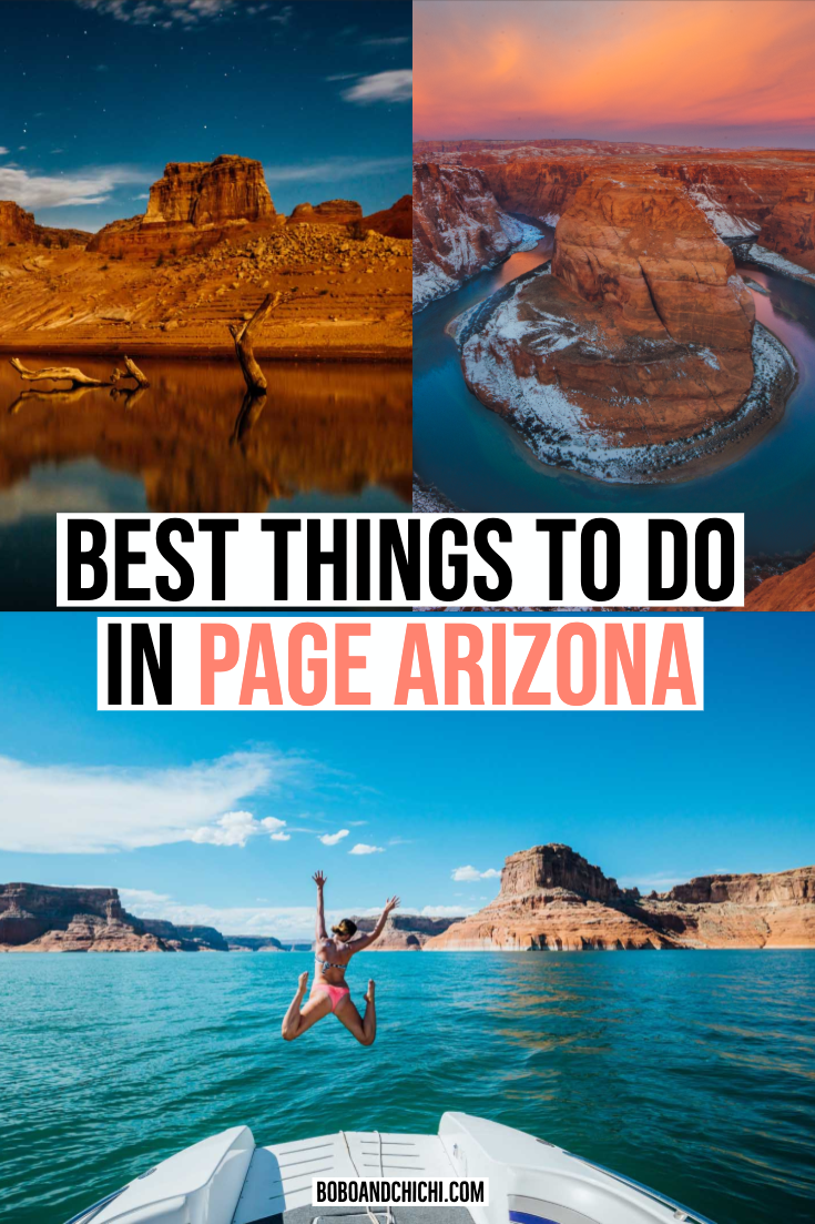 One Stop Guide for the Best Things to do in Page Arizona (and Nearby)
