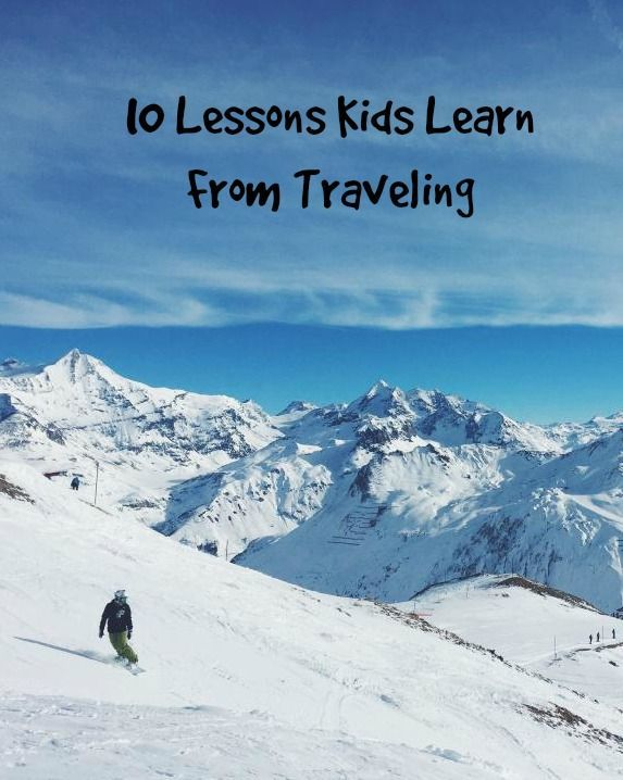 Feeling guilty for pulling your kids from school to travel? What is your kids getting out of travel?  Here are 10 things... http://mytravelingkids.com