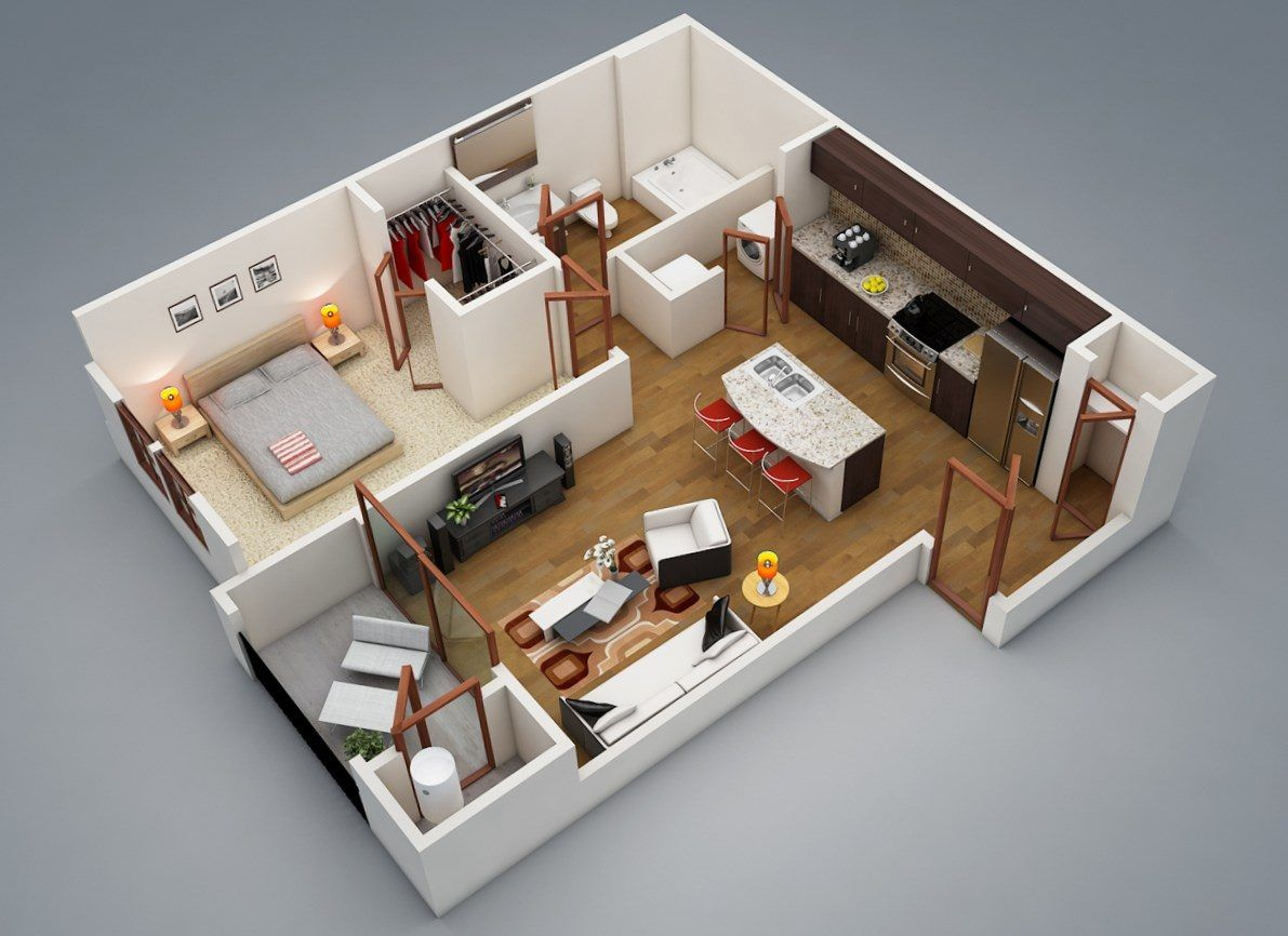 Ordinaire 1 Bedroom House Designs   Https://bedroom Design 2017.info