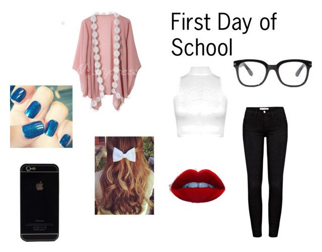 """First Day Of School"" by adelaideowusu123 on Polyvore"