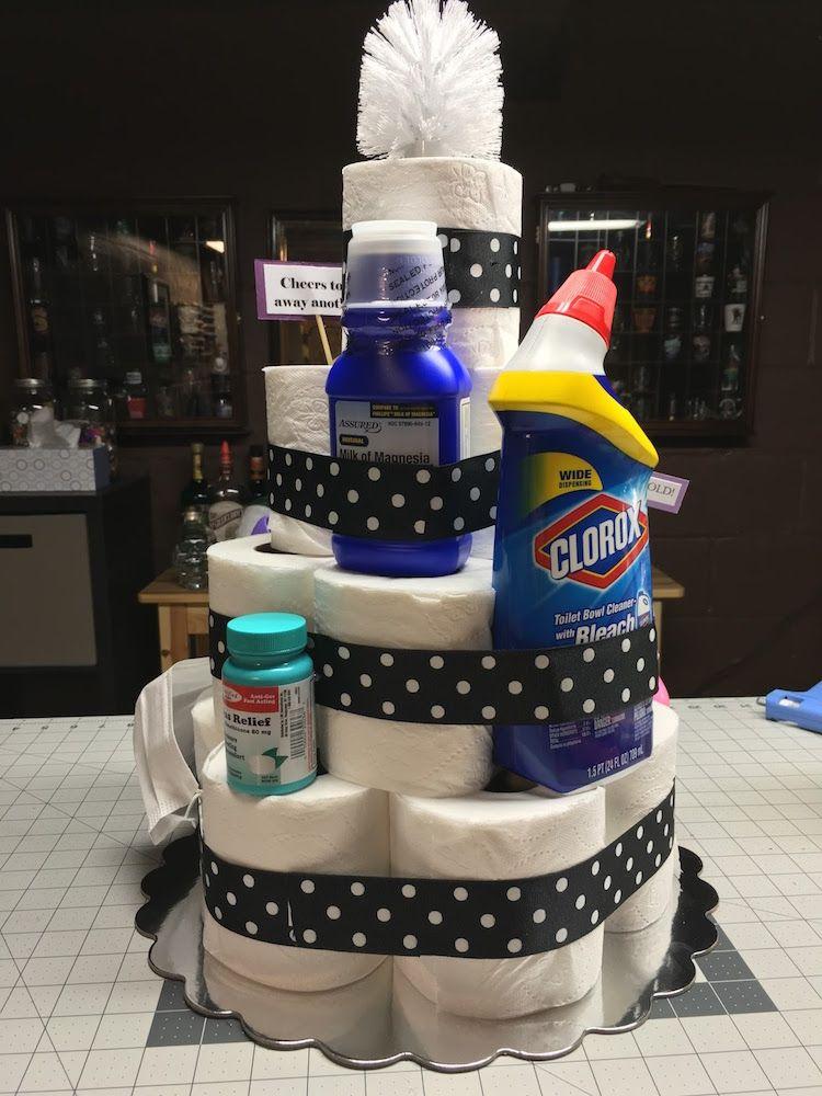 Kuchen Toilettenpapier