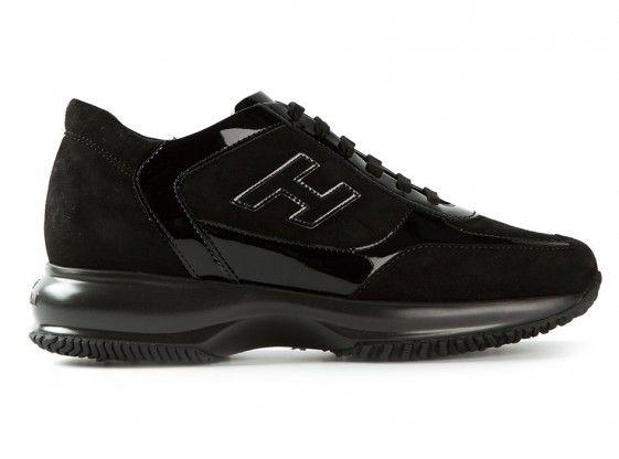 ac1ee3deaca Shop Hogan Interactive Sude Black Women in Hogan outlet and Hogan sale  online store. #hogan #shoes #sneakers #fashion #lifestyle #style #sale # outlet ...
