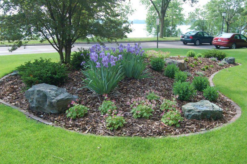 landscaping berms bermed plantings