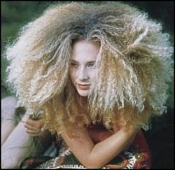 Jeeze.... I'm so thankful I don't have to wake-up with hair like this every morning!