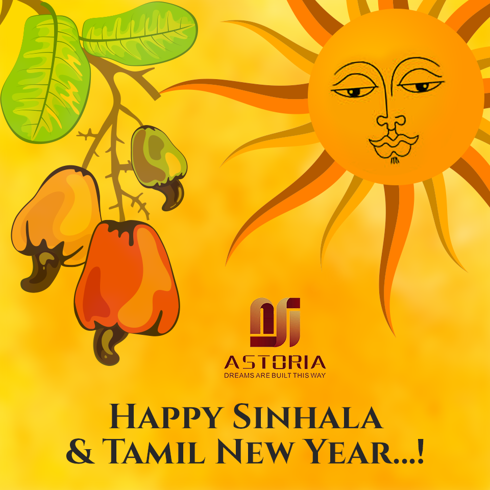 Warm wishes for a prosperous Sinhala and Tamil New Year