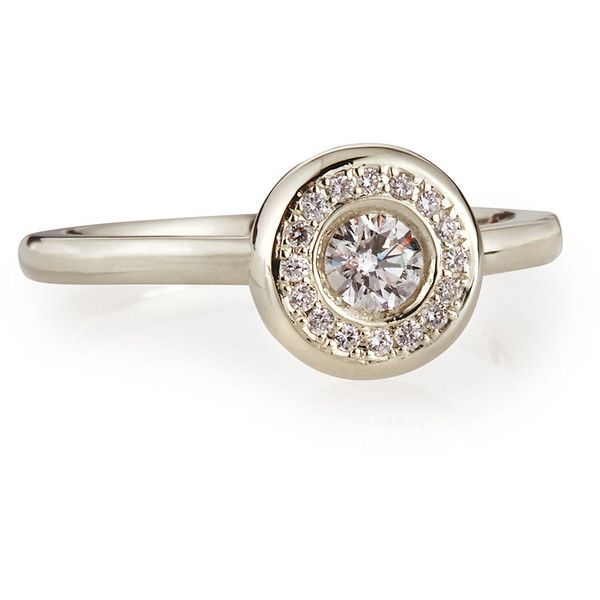 Roberto Coin Diamond Solitaire Station Ring