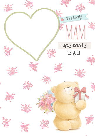Mam Photo Forever Friends Birthday Card Birthday Cards For Friends Happy Birthday Mam Happy Birthday Wishes Quotes