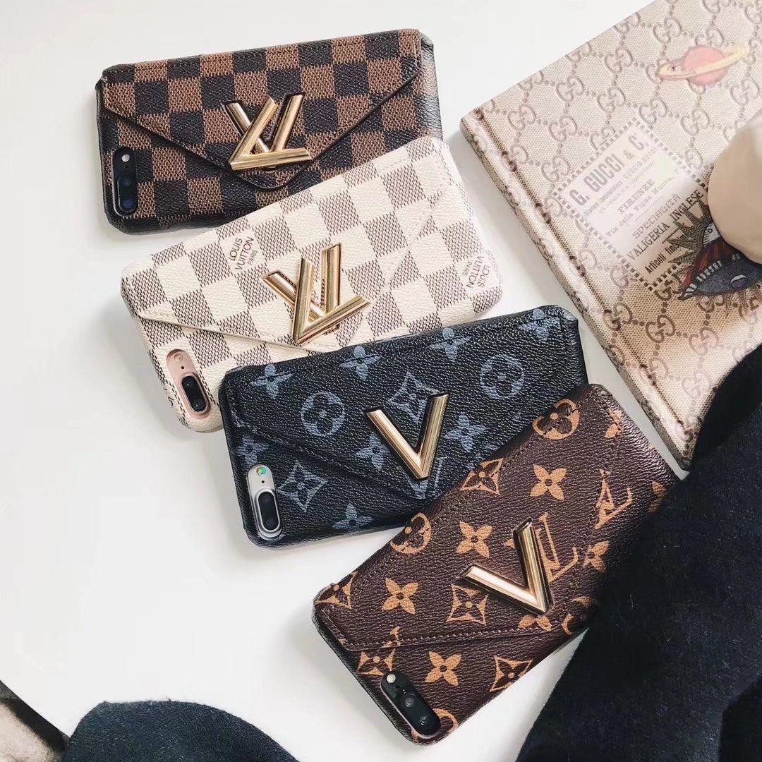 buy online d7a6b b3b67 2019 的LOUIS VUITTON iphone xケース金属封筒財布状況革製の ...