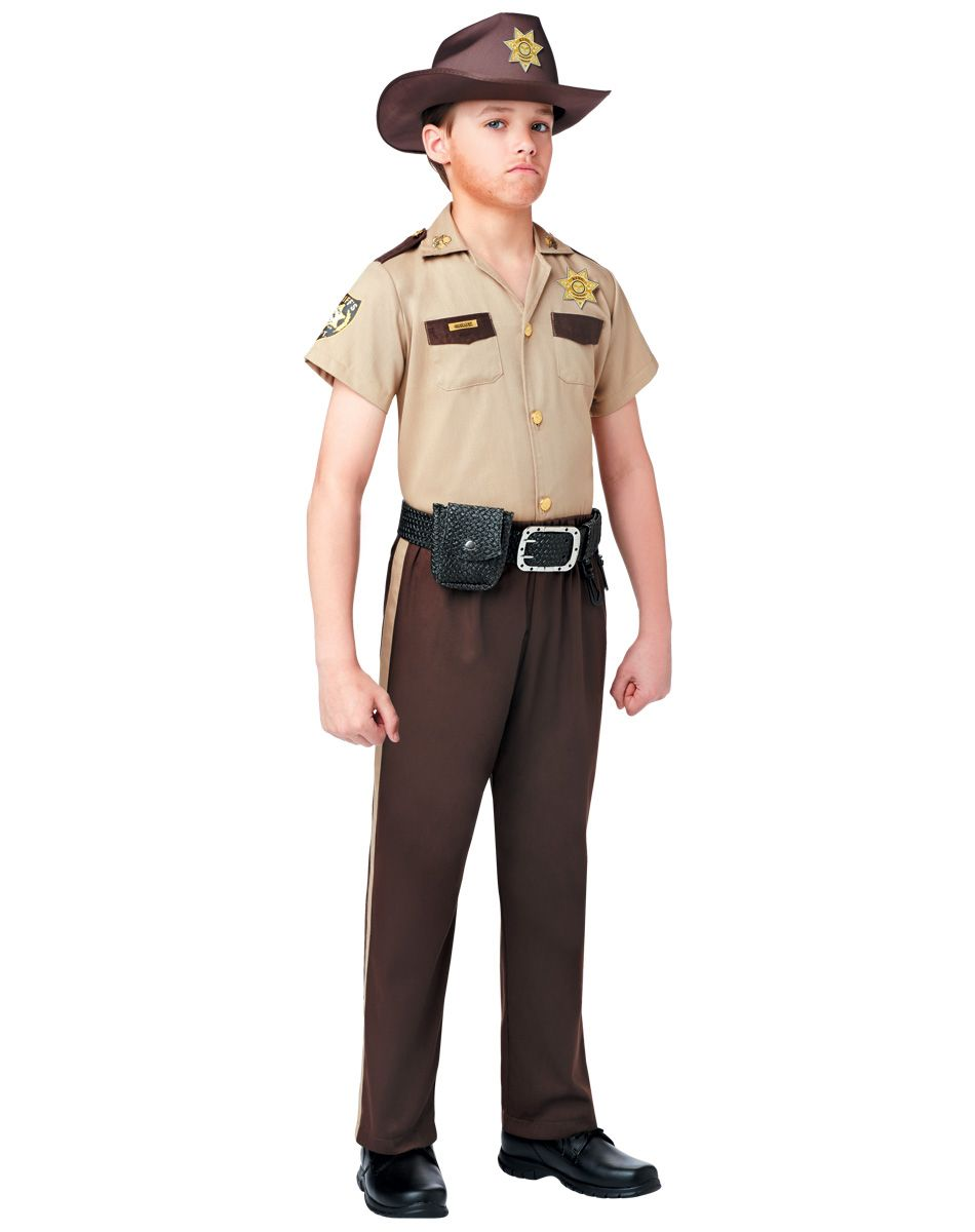 The Walking Dead Rick Grimes Boy's Costume exclusively at Spirit ...