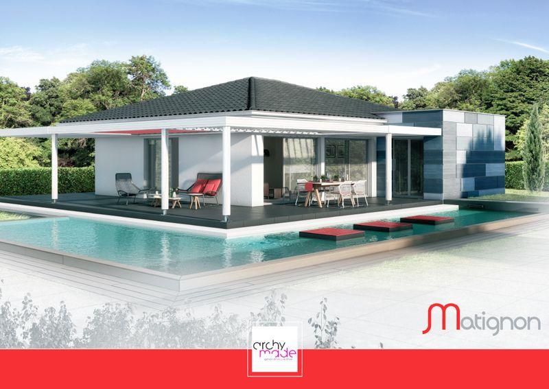 Modèle : Matignon Villa T4 / Surface Habitable : 98,55M2 / Surface