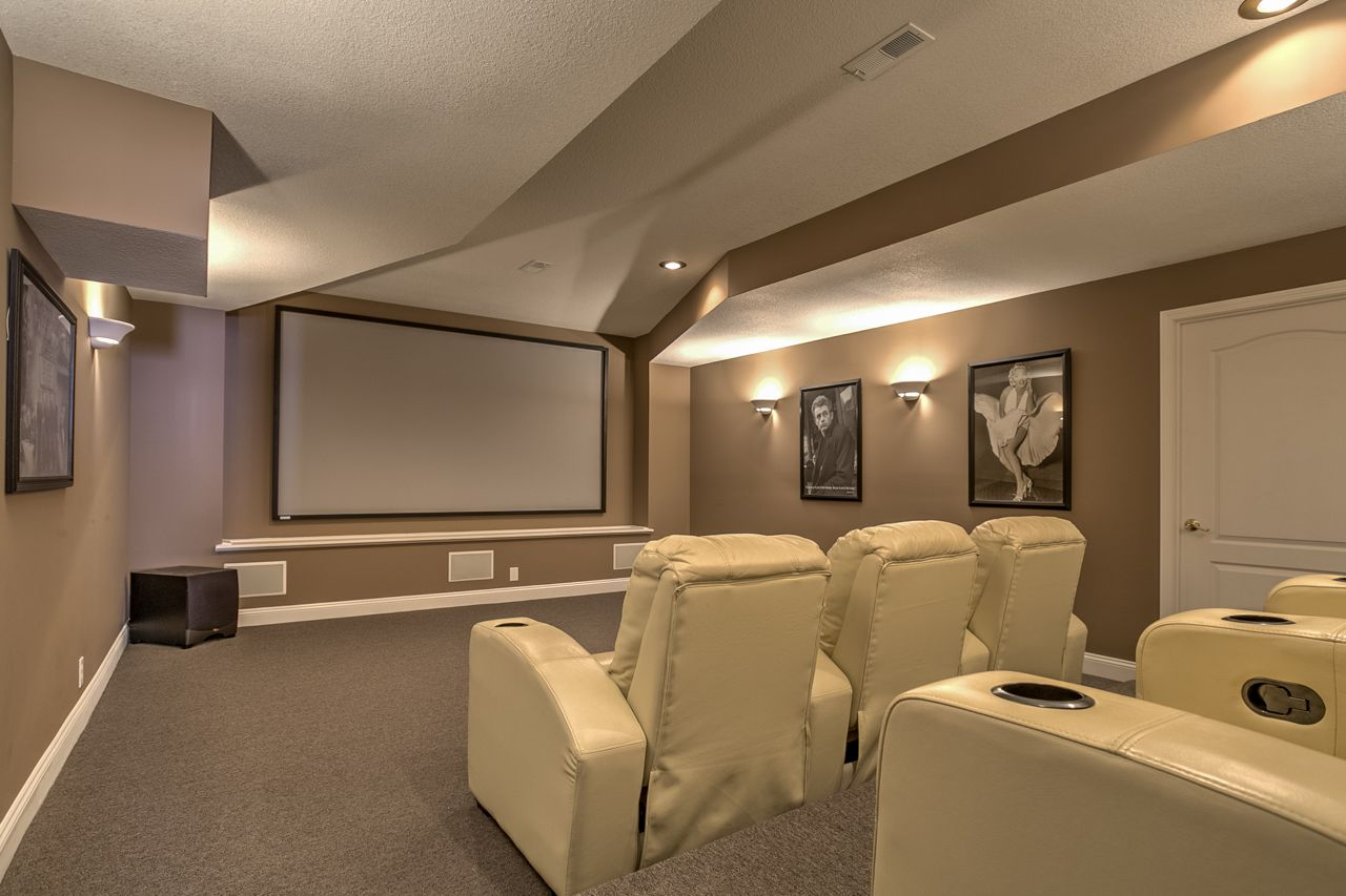 Check out this theatre room!  Wouldn't you love to have this in your home?  Well you can! It's located in one of our listings.  For more information, click on www.AudraHeller.KansasCityHomes.com