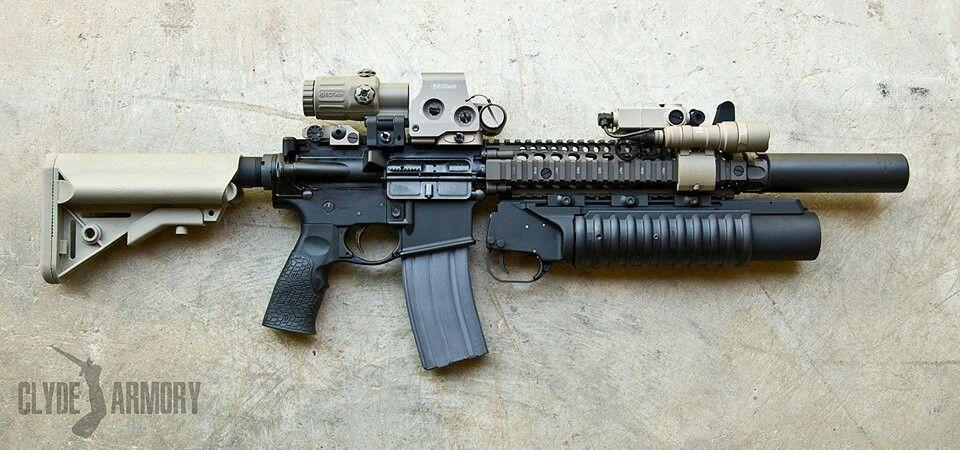 Fully Equipped Ar Tactical Rifles Military Guns Guns Ammo