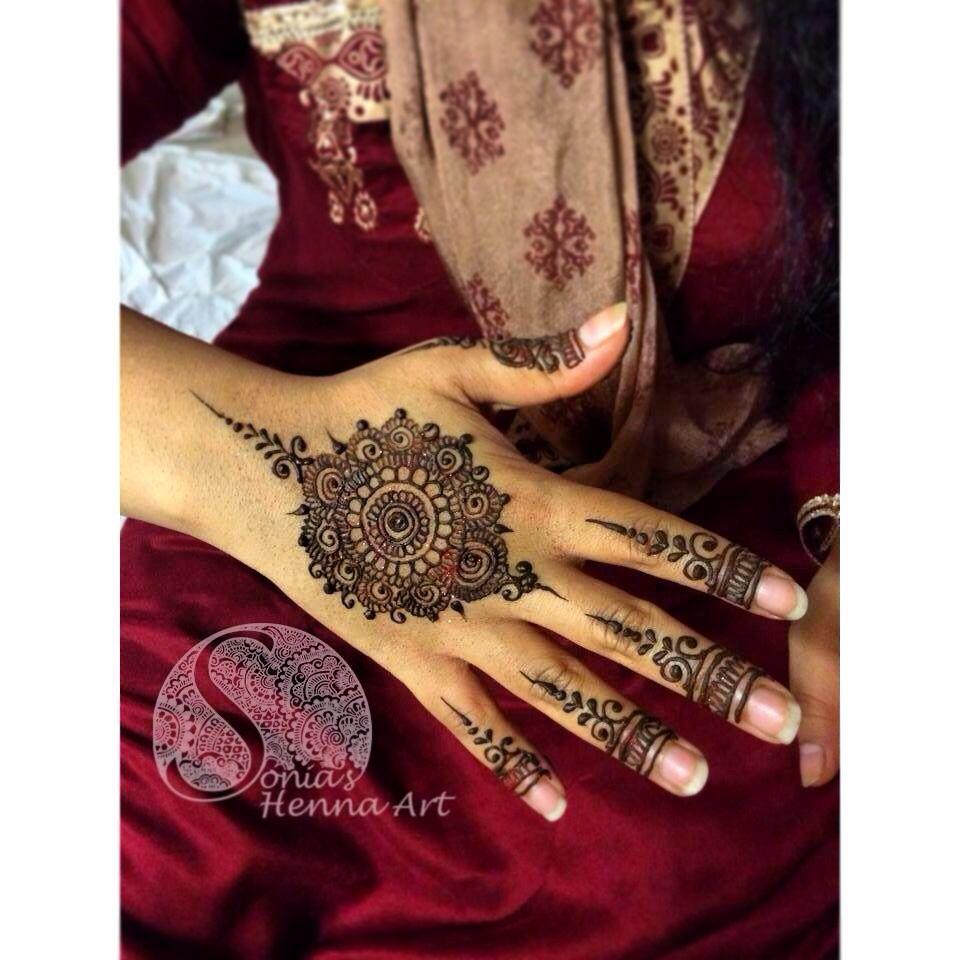 50 intricate henna tattoo designs art and design 50 - Mandala Design By Sonia S Henna Art Henna Artist In Toronto Mehndi Design Dulhan Mehndi Henna Tattoo Designshenna