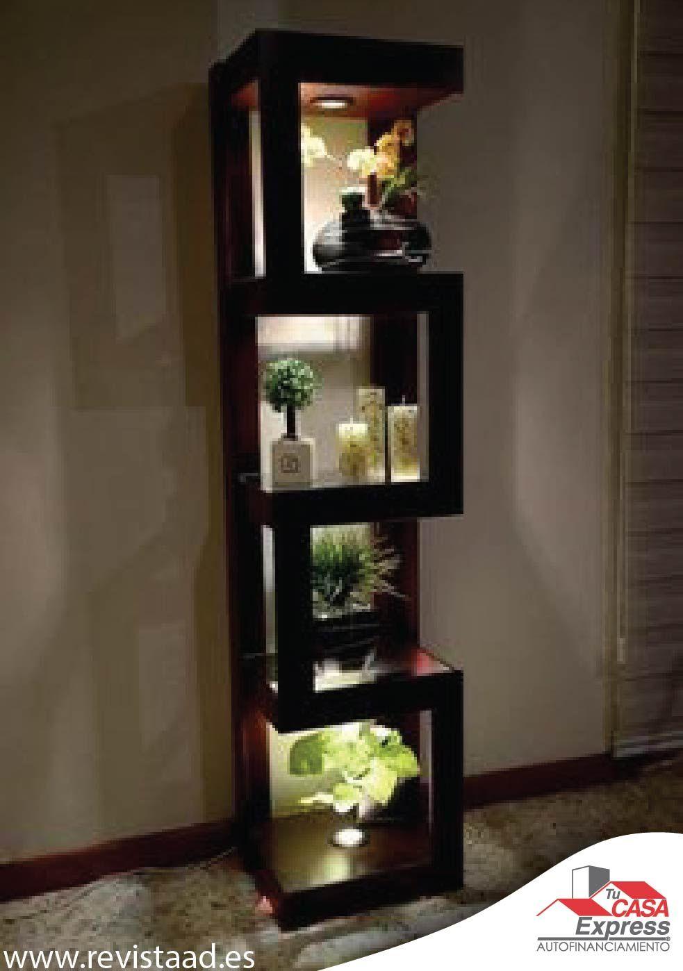 Una Idea Para La Sala Les Gusta Decoraci N Pinterest  # Muebles Esquineros Para Sala