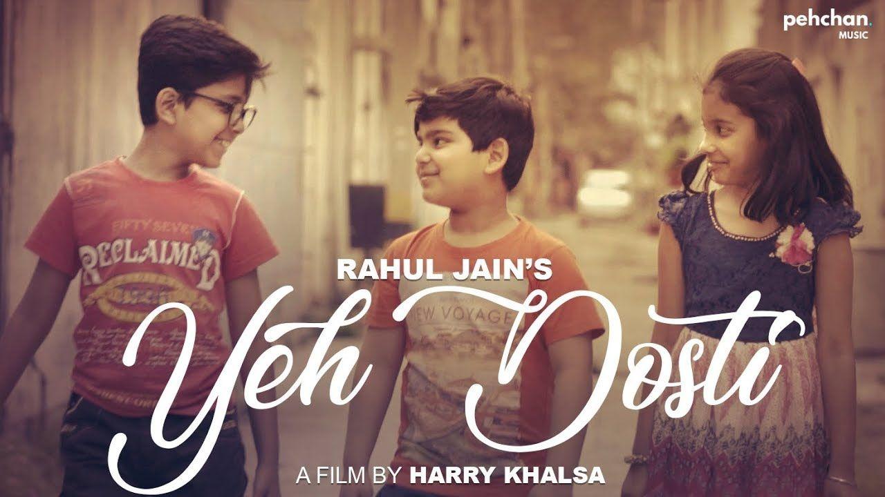 Yeh Dosti Hum Nahi Todenge Rahul Jain Unplugged Cover Sholay Peh Friendship Songs Friendship Video Songs