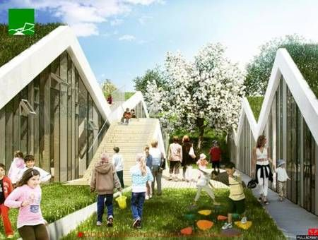 Best Green Roofs Are Changing Architecture Big S New School In 400 x 300