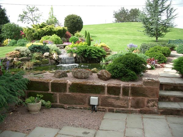 Large Garden Design Ideas Tinsleypic Blog