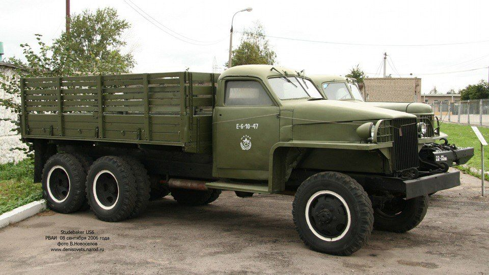 Studebaker Truck Sent To Soviet Union As Lend Lease Military
