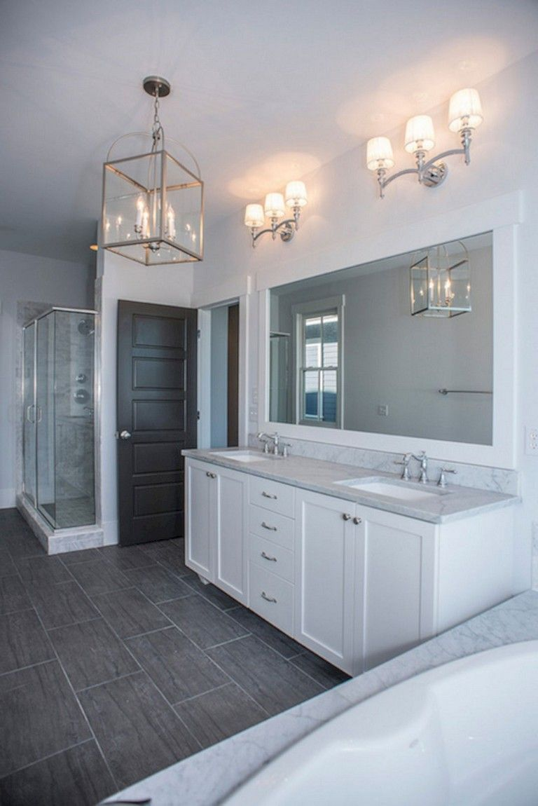 10+ Luxury White Bathroom Vanity Ideas #bathroomideas