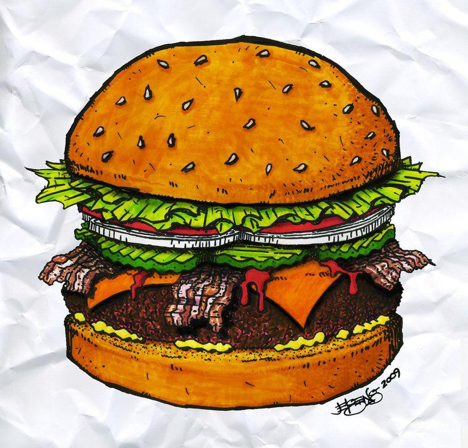 секрет открытки гамбургера настоящее