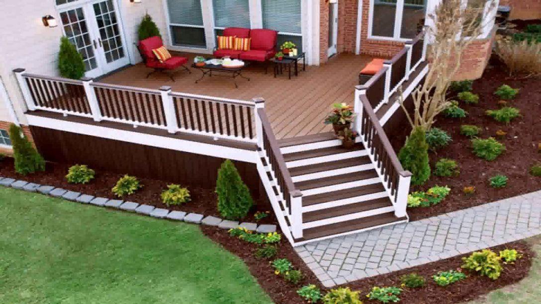 10 Mindblowing Inspirational Landscaping Around Deck In 2020 Deck Landscaping Landscaping Around Deck Small Deck Designs