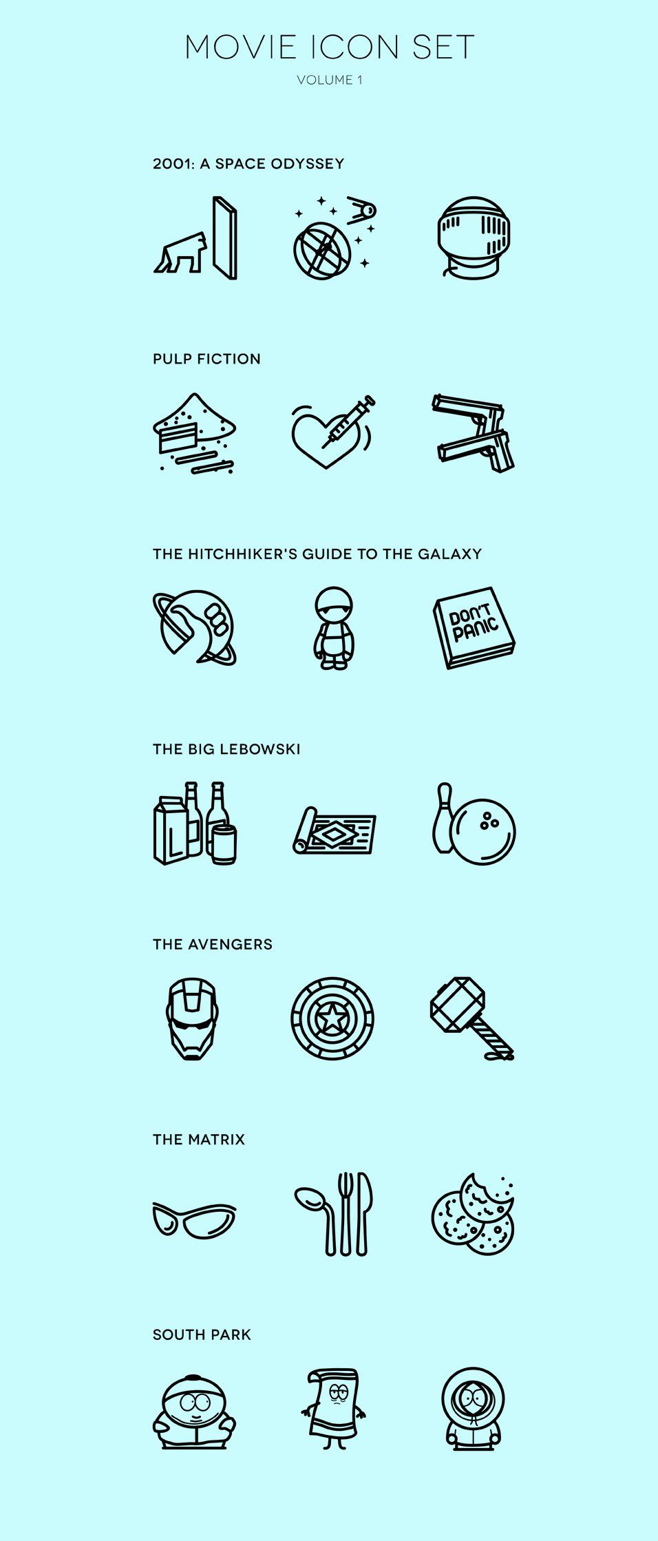 Free Icons for Web and User Interface Design 76