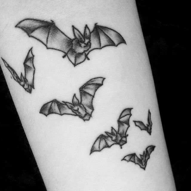 Bat Tattoos Designs Ideas And Meaning: Goth Tattoo Vampire Tattoo And
