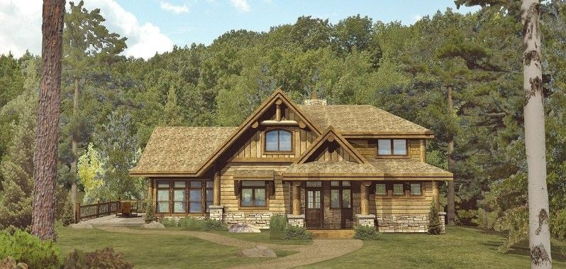 Incroyable Elkhorn   Log Homes, Cabins And Log Home Floor Plans   Wisconsin Log Homes