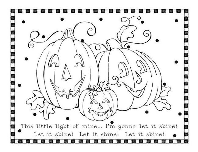 religious halloween coloring pages - Christian Halloween Coloring Pages