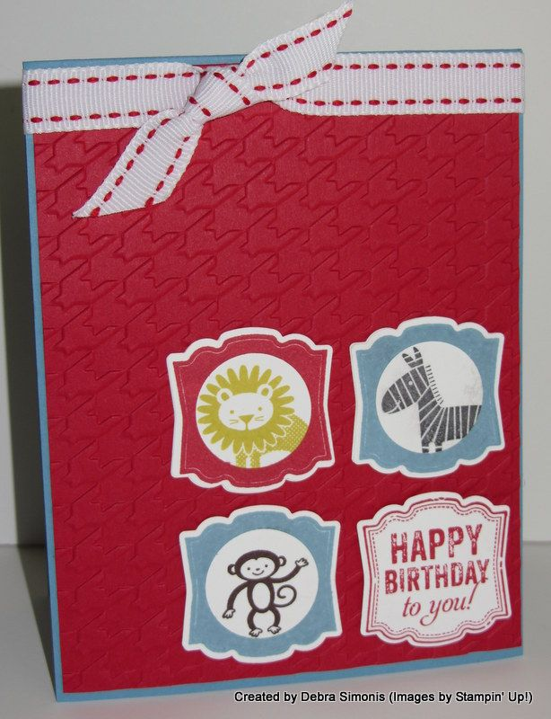 Zoo Babies for Ford Deb's Stampin' Grounds http://www.stampinup.net/esuite/home/debrasimonis/blog