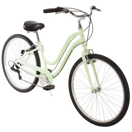 Huffy 27 5 Parkside Women S Comfort Bike With Perfect Fit Frame Mint Walmart Com Comfort Bike Comfort Bicycle Huffy