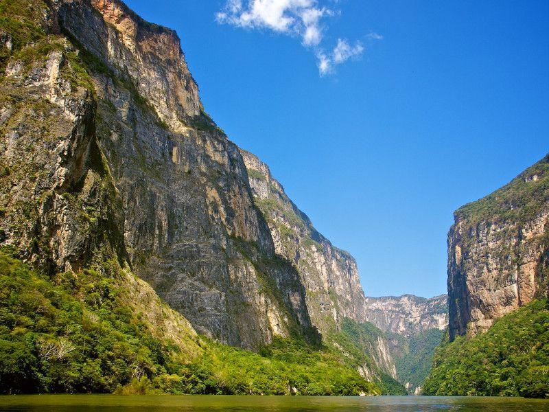 Sumidero Canyon near Tuxtla Gutierrez