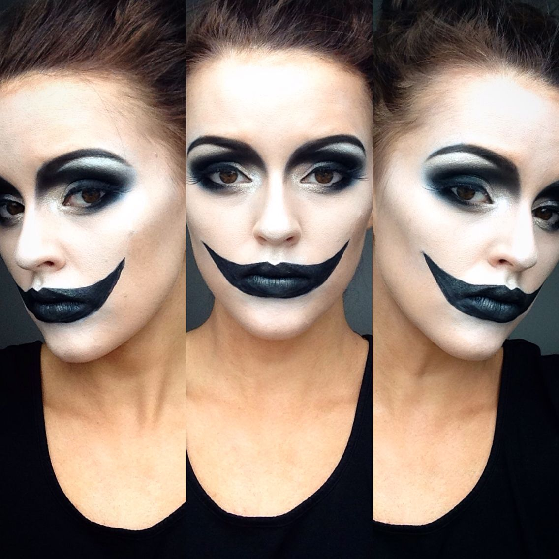 halloween makeup done by me illamasqua inspired follow me on instagram chloecatherinemakeup like my