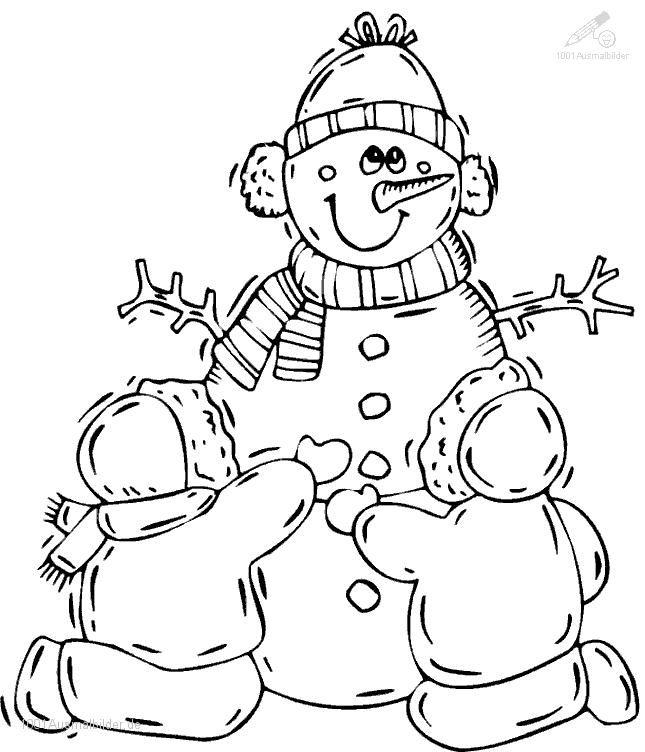 winter ausmalbilder – Ausmalbilder für kinder | ausmalbilder ...