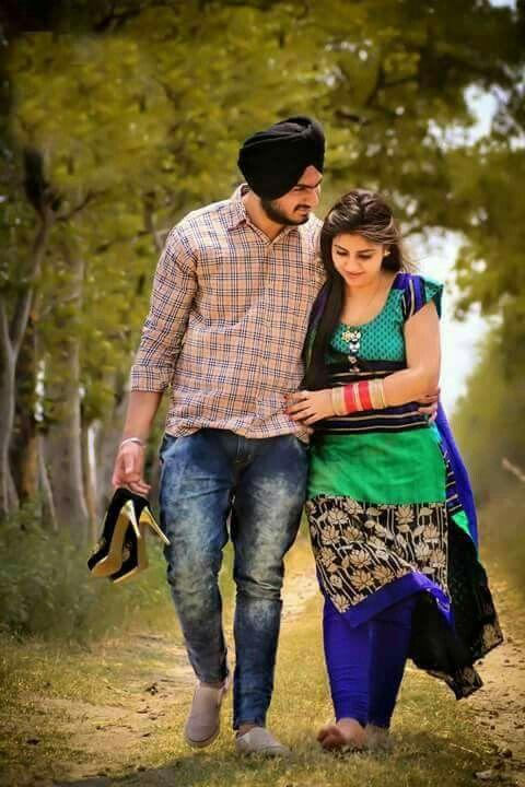 Punjabi Girl With Gun Wallpaper Pin Zaildarni Best Couple Pictures Wedding Couple