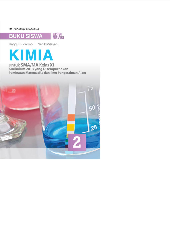 Kunci Jawaban Buku Kimia Erlangga Penulis Michael Purba Sma Kelas 11 Semester 1 Kimia Buku Pengetahuan