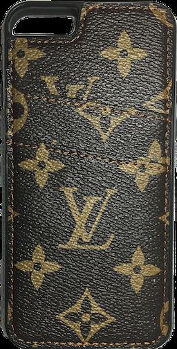 brand new 6b12b 4bc22 Louis Vuitton Brown BIg Classic Pattern Card Holder iPhone 6/6s+ ...