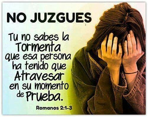 ♣NO JUZGUES...!