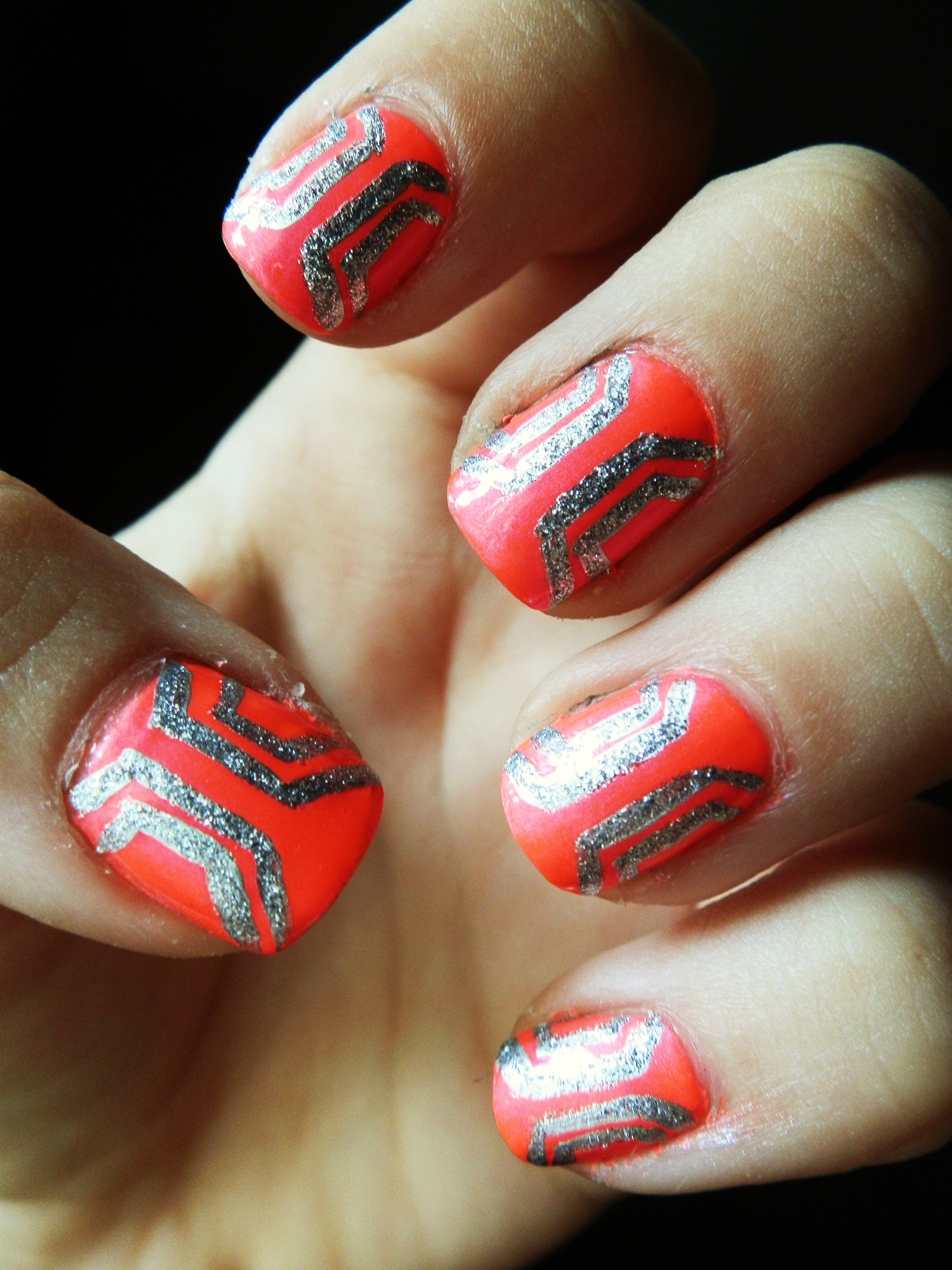 Love everything about these nails, perfect for summer! Nina Ultra ...