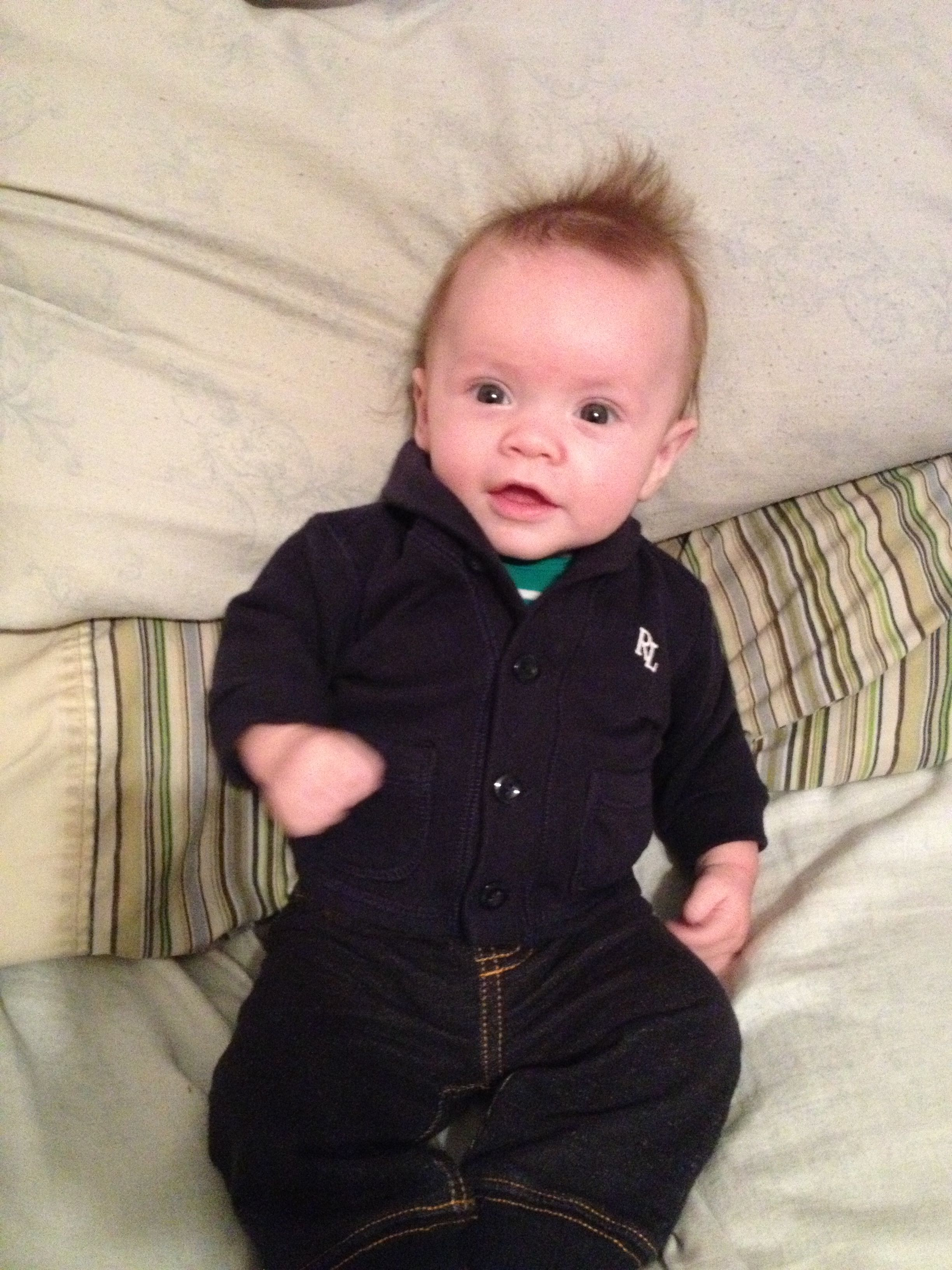 Love this Ralph Lauren jacket. Baby boy clothing   Anson style ... 8a0616a7b39