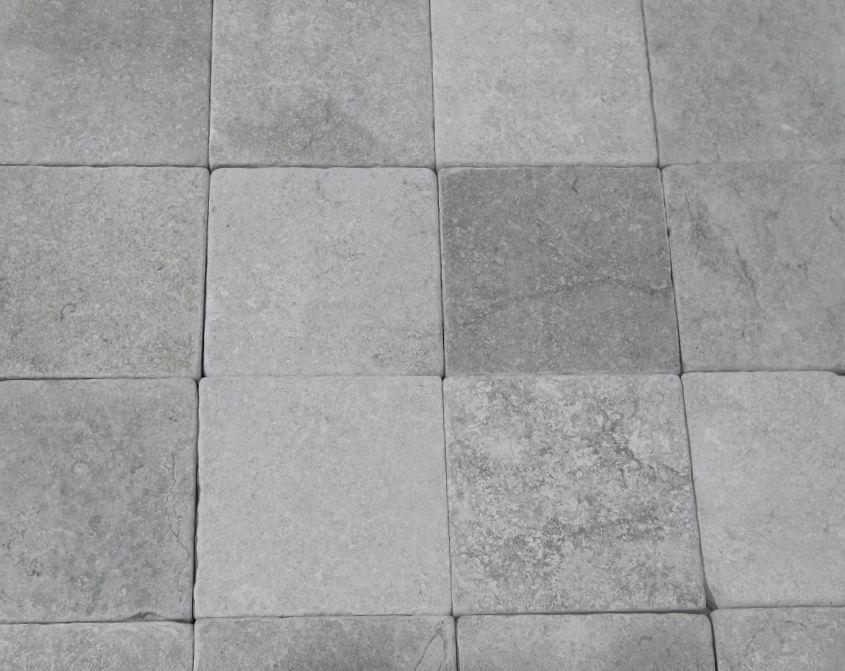 Tumbled Castille Grey Limestone Stone Flooring Flooring