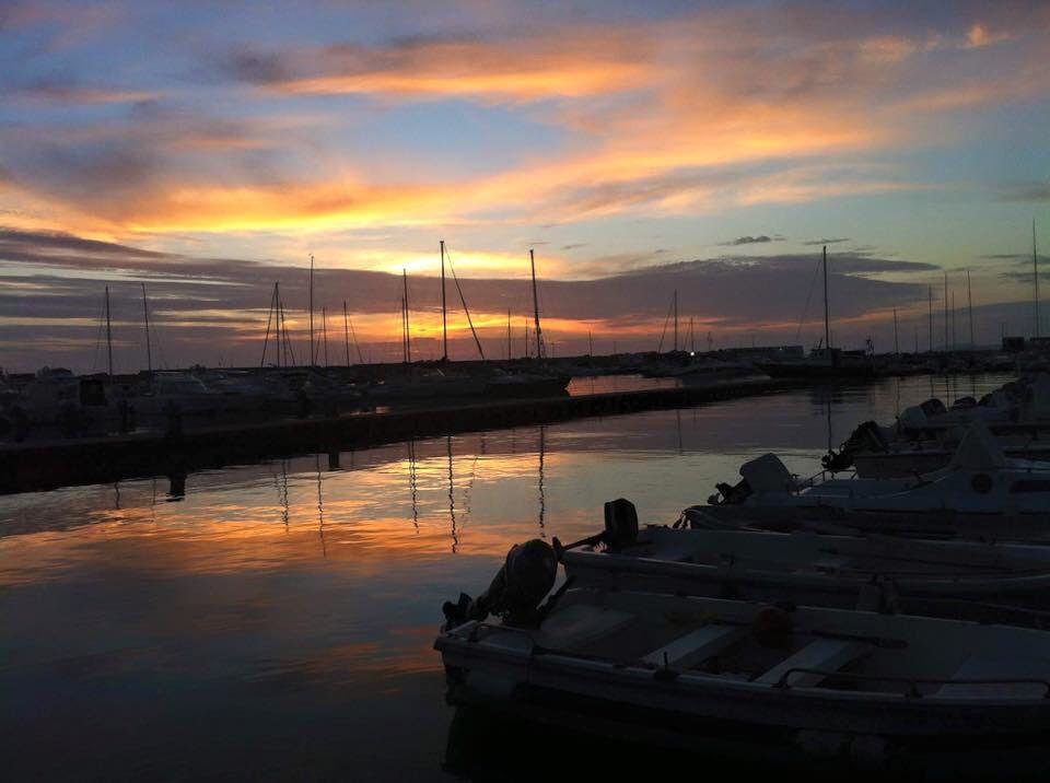 Sunset in San Leone #Agrigento #Sicily