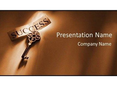 download the latest design key for success powerpoint template, Presentation templates