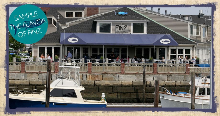 Finz Seafood Grill Waterfront Restaurant With Lounge Deck