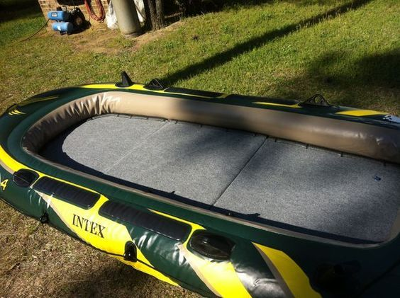 Wooden Floor For A Seahawk 4 Fishing Raft Diy Wooden