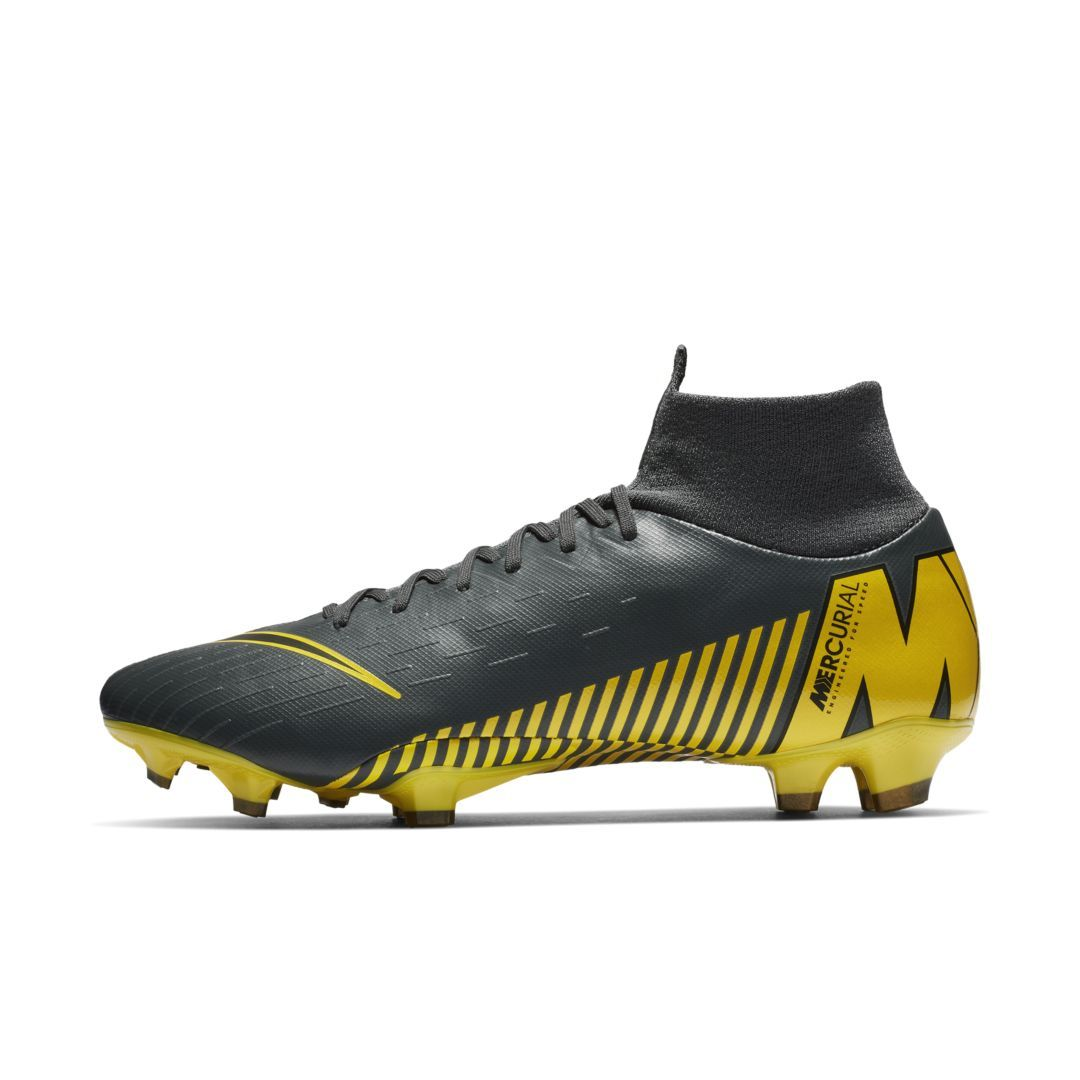 b4d738770f0 Nike Mercurial Superfly VI Pro Firm-Ground Soccer Cleat Size 4 (Dark Grey)